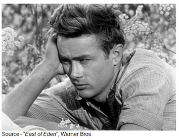 """It's the worst thing in the world. Don't ask me - even if you could - how I know that. I just know it."" – Abra, ""East of Eden"", Warner Bros., 1955"