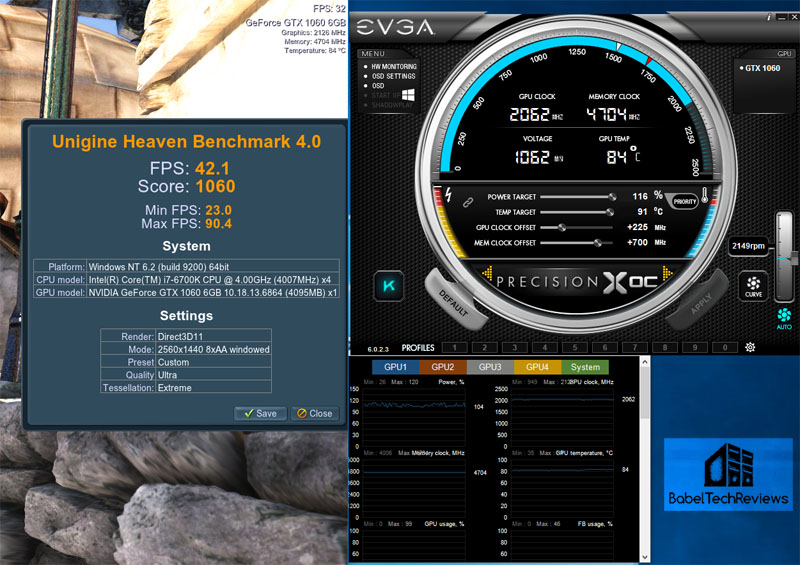 Overclocking the GTX 1060 with PrecisionX OC - Page 2 of 3
