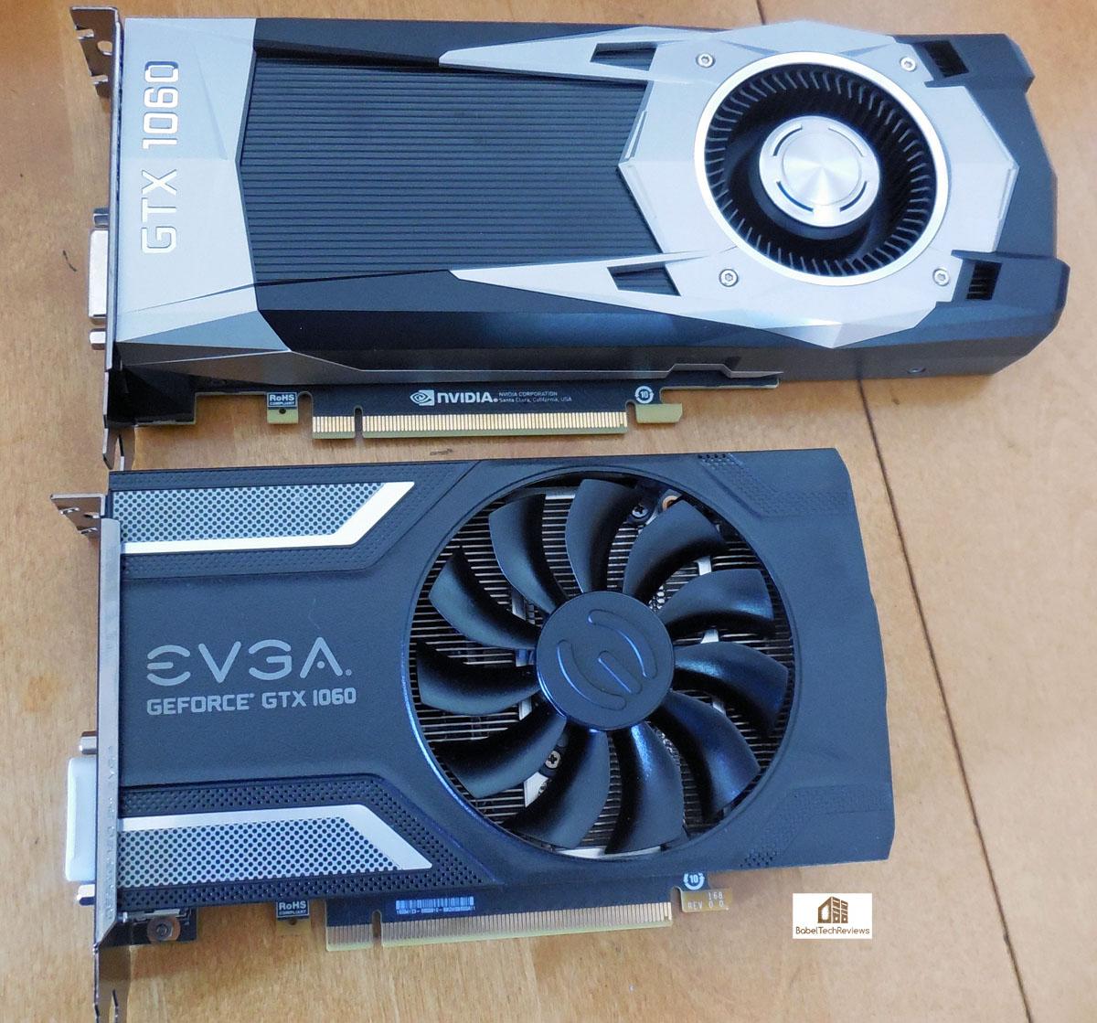 The EVGA GTX 1060 SC vs  the Founders Edition & vs  the RX 480