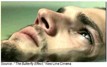 """Let's just say you're being closely watched."" – Evan at 7, ""The Butterfly Effect,"" New Line Cinema, 2004"