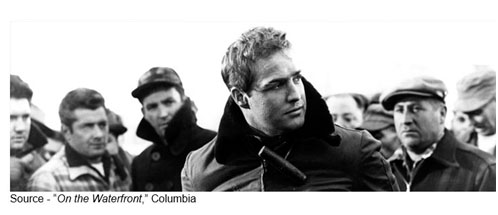 """Conscience... that stuff can drive you nuts!"" – Terry, ""On the Waterfront,"" Columbia, 1954"