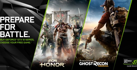 "GeForce GTX 1060 added to NVIDIA's ""Prepare for Battle"" bundle"