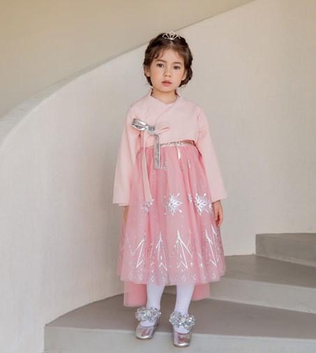 韓國製Frozen公主韓服連身裙C款 - Babe Maison