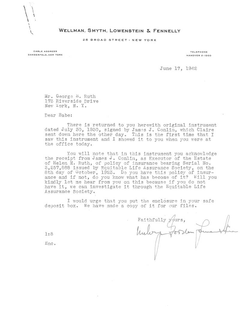 Letter Inspirational Thank You Notes Davidhowald. Babe Ruth Agreements  Babe Ruth Central