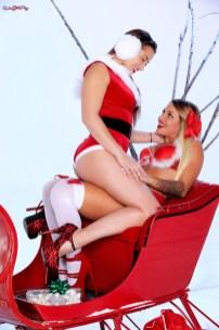 Twistys Dani Daniels & Kissa Sins in Santa's Ride 5
