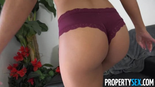 Property Sex Real Estate Babe Vienna Black Mixing Business with Pleasure -09