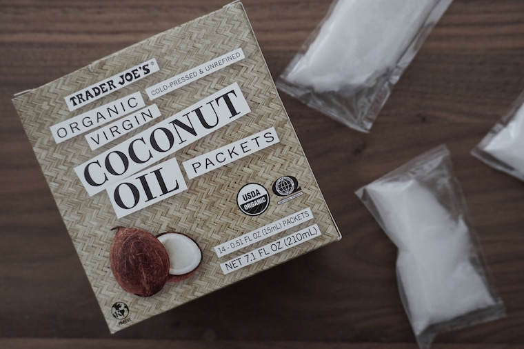Image result for coconut oil packets Trader Joe's