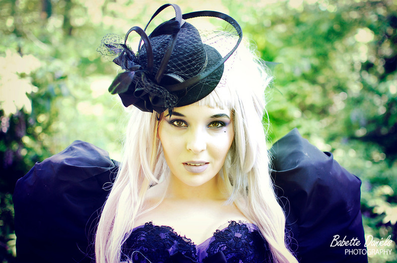Kassandra wearing Sweet Carousel Corsetry