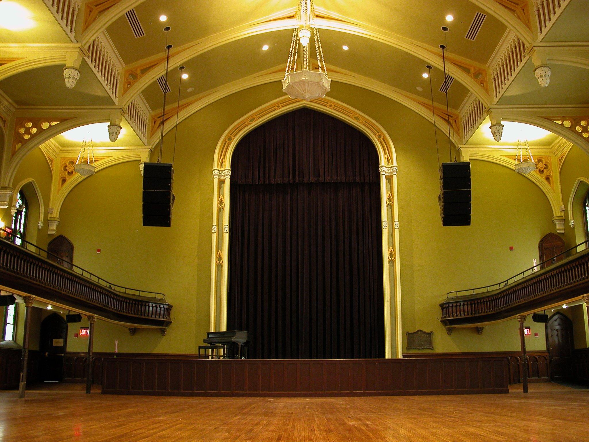 Asbury Hall Concert Rentals  Babeville Buffalo