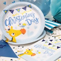 Christening Tableware