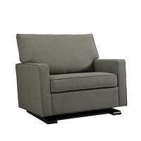 Baby Relax Coco Chair and a Half Glider, Gray - BabiesMe ...