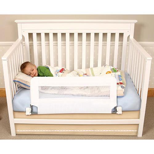 regalo barriere de securite rabattable pour lit de bebe