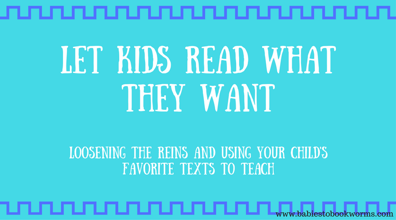 Let Kids Read What They Want