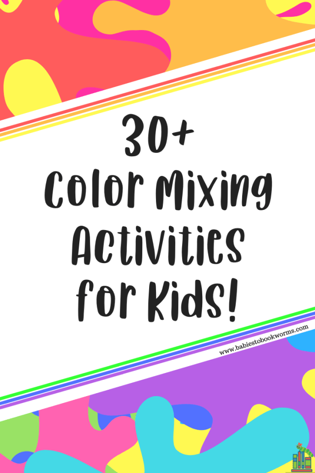 Coloring for Kids color mixing kids : Color Mixing Activities for Kids | Children's Book on Diversity ...