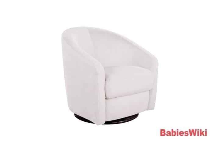 Babyletto-Madison-(Ecru)-Swivel-Glider