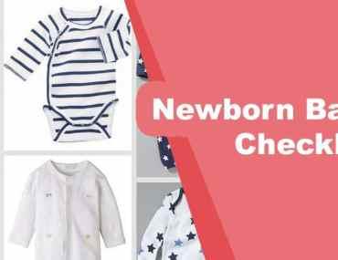 Newborn Baby Checklist
