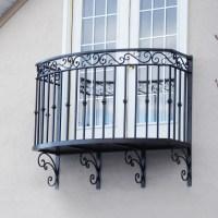 Custom Built Wrought Iron Steel Balconies, Juliette ...