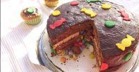 Pinata-Kuchen-Rezept fr den Kindergeburtstag