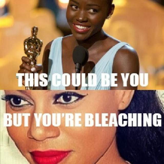 Hehehe,Check Out This Meme Of Lupita Nyong'o & Yvonne Nelson