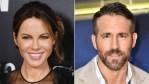 Kate Beckinsale is convinced she looks like Ryan Reynolds