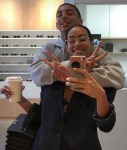 Solange Knowles and son in cute photo
