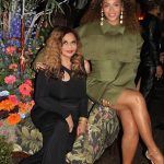 Beyonce and Tina Lawson