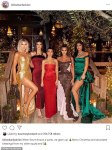 The Kardashian-Jenner sisters in Christmas party photo