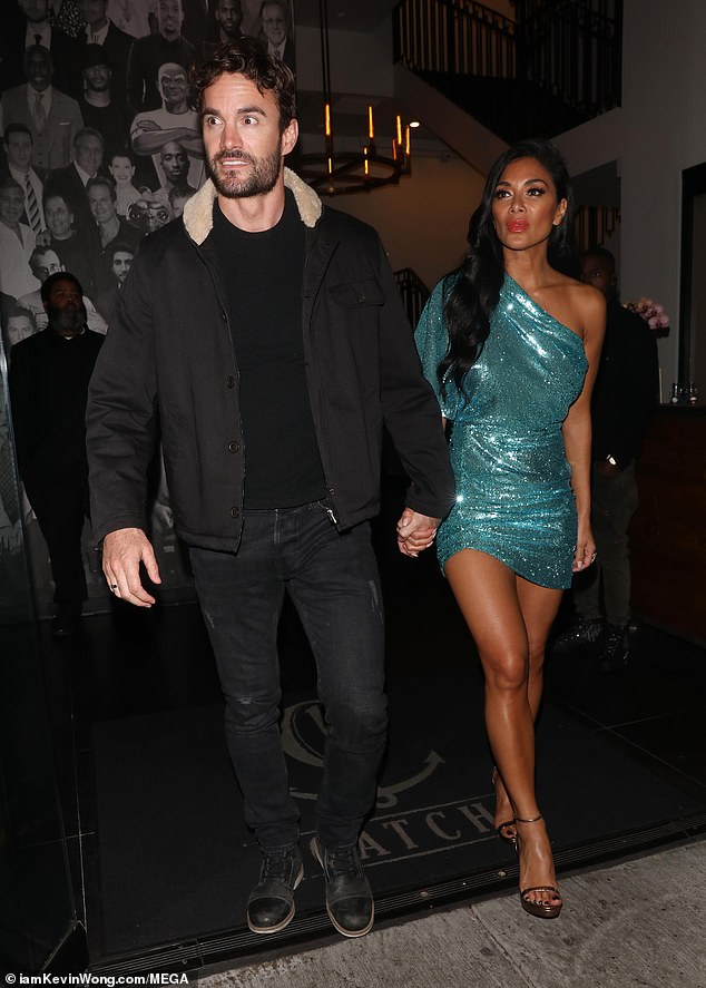 Yummy Couple Nicole Scherzinger And Thom Evans Out And
