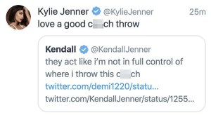 Kendall Jenner replies people for c**chy shaming her