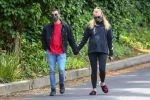 Sophie Turner and Joe Jonas spotted taking a walk