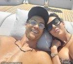 Cristiano Ronaldo and girlfriend,Georgina Rodriguez in cute selfie