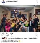 Ned Nwoko share photo of his family