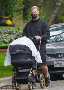 Joe Jonas spotted taking a stroll with daughter, Willa