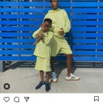 Kelly RowlandPose with son in Beyonce's Ivy Park line