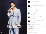 Harry Styles clap back at people for that Vogue cover shoot