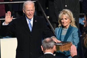 Joe Biden sworn in as the 46th US president
