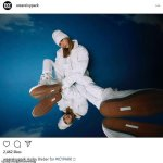 """Hailey Bieber models Beyonce's """"Icy Park"""" collection"""