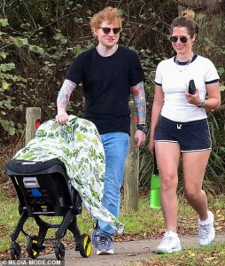 Ed Sheeran and wife Cherry Seaborn