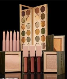 Check out Kim Kardashian's camo-inspired makeup line