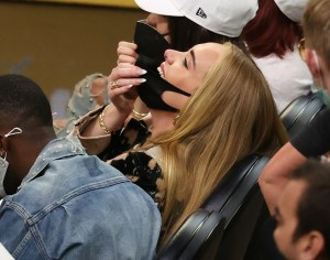 Adele spotted with Sports agent Rich Paul