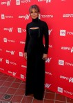 Halle Berry stuns in black at Women + Sports Summit in LA