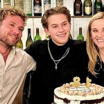 Reese Witherspoon ,Deacon and Ryan Phillippe