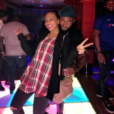 Tboss and Uti Nwachukwu hang out (photos)