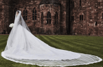 Check Out CIara's Stunning Wedding Gown From the Back