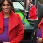Meghan Markle reveals due date