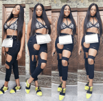 Check Out Rukky Sanda's Pool Party Look