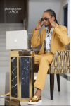 Denrele Dons A Suit For His 33rd Birthday