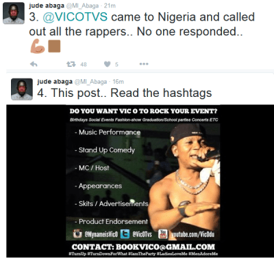 MI Gives 10 Reasons Vic O is The Greatest