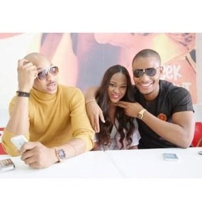 Beautiful People: Alex Ekubo,Ezinne Akudo & IK Ogbonna.