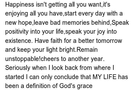 Uche Jombo's Birthday Message To Self